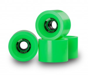 C.T.D. Wheels 70mm Green