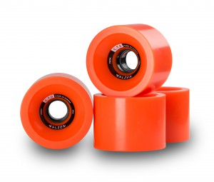 C.T.D. Wheels 70mm Orange