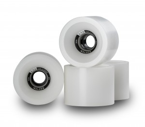 C.T.D. Wheels 74mm ClearWhite
