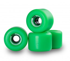 Insul Wheels 70mm 78a Green